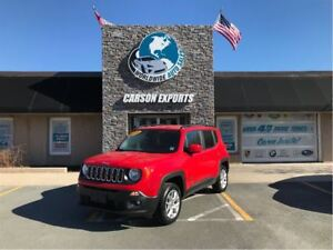 2016 Jeep Renegade YEAR END CLEAROUT $4000 OFF NORTH EDITION