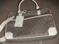 ( New with tag ) DKNY monogram laptop bag / crossbody / messenger bag £55