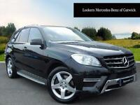 Mercedes-Benz M Class ML250 BLUETEC AMG SPORT (black) 2013-03-07