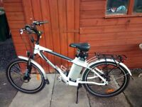 Gents Freego Eagle Electric Cycle - Excellent Condition