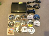 Sony plays toon 3 super slim with 14 games and controller