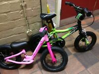 Girls Specialized hotwalk balance bike