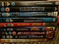 Large bundle of dvds some new