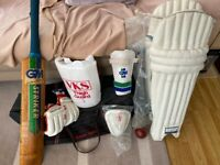 Mens Cricket Pads Left Handed & Extras