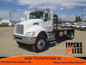 2013 Kenworth T370 4X4, 16 Ft DECK + MORE!!!
