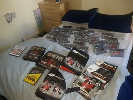 F1 Formula One Car and Magazine Collection