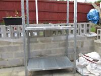 Galvanised Steel Racking