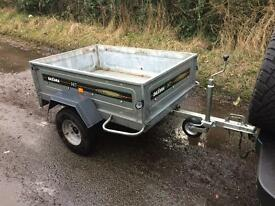 Daxara 147 Trailer Camping Carboot DIY Garden Logs Halfords Trailor 5x3 600 KG