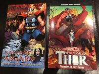 Thor -Tales of Asgard & The mighty Thor thunder in her veins