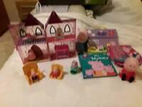 Pepper pig bundle many items like new