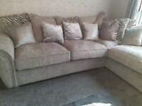 Beautiful Flair Corner Sofa