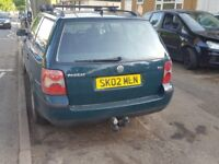 VW Passat 1,9 SPARES OR REPAIR