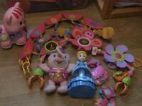 Good selection of baby girl toys