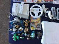 Nintendo Wii games console plus extras