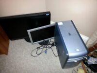 Desktop PC, Pentium 4, Monitor 17 inch, Windows XP, Mouse, Keyboard, Speakers