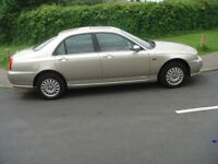 rover 75 v6 connoisseur 4 dr saloon only 62000 mls mot 28/4/18 v g c.high spec.very good condition