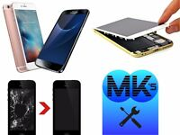 MK's Smartphone Screen Replacement Service - (Home/Site Visit is Also Available)