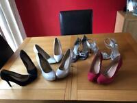 Ladies mid heel shoes