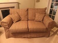 Sofa multi York 2x sofas 1x foot stool, including arm rest Covers and scatter cushions
