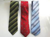3 Paul Smith silk ties