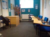 office in self contained building for £250 a month including all bills (broadband)