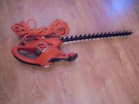 black decker hedge trimmer used ones