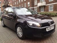 VOLKSWAGEN GOLF 1.4 2009 REG NEW SHAPE FULL SERVICE HISTORY 12 MONTHS MOT VERY CLEAN IN AND OUT PX