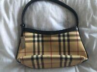 Genuine Small vintage Burberry bag