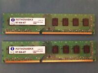 2 x Integral 4GB DDR3 RAM