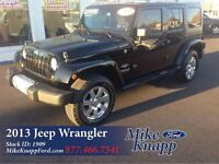 2013 Jeep WRANGLER UNLIMITED *One Owner *Sahara *4X4