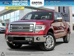 2013 Ford F-150 Platinum SuperCrew 4WD **Low Mileage!**