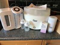 Tommee tippee feeding starter set- excellent condition