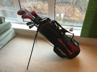 Golf clubs Barely used. Great starter set of golf clubs