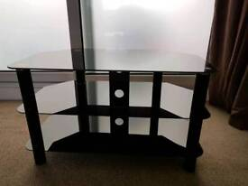 High gloss black tv stand / unit