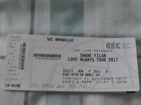 🎤🎤FOR. SALE CONCERT TICKETS FOR SHANE FILAN🎤🎤