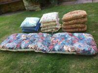 13 garden cushions
