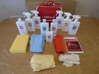 AutoGlym Auto Glym Life Shine complete car valeting kit & canvas carry bag brand new unopened