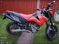 2007 Ktm 640 duke 2