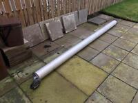 Van Vault Security Tube. Plumbers Pipe Rack