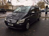 MERCEDES VIANO 2.2 CDI AUTOMATIC EXTRA LONG SERVICE History TOP OF THE RANGE