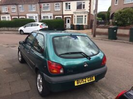 Ford Fiesta 1.3, £380 no offers