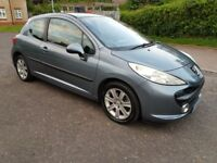 2007 Peugeot 207 1.6 16v Sport 3dr Manual @07445775115 Low Mileage+New++Clutch+