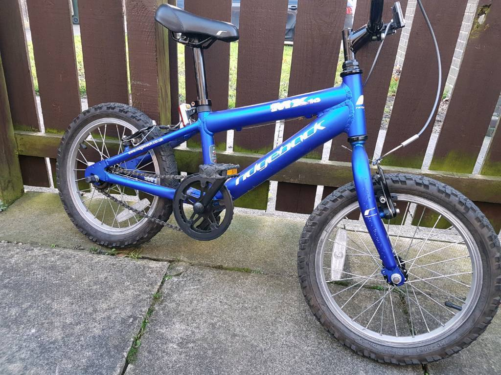 Ridgeback mk16 boys aluminium mountain bike. Very light. Awesome bike