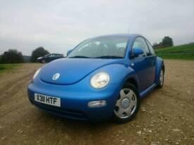 Volkswagen Beetle 2.0 Metallic Blue - FSH - RECENT CAMBELT