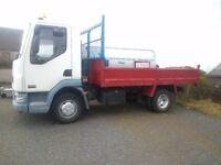 7.5 ton tipper lorry