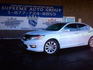 2013 Honda Accord Touring Pkg. Fully Loaded Navi Leather Sunroof