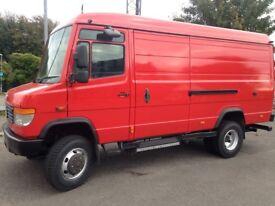 2005 Mercedes Vario 814DA 4x4 Van, expedition, catering, overland, campervan etc