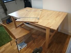 Large ikea norden table great condition