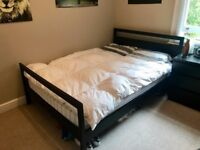 IKEA Double Bed with Mattress (£100)