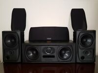 MISSION 73 SPEAKERS. CENTRE & SURROUND SPEAKERS. COMPLETE BUNDLE.OFFERS CONSIDERED.SUPERB CONDITION